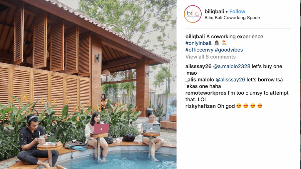 bali co-working digital nomads