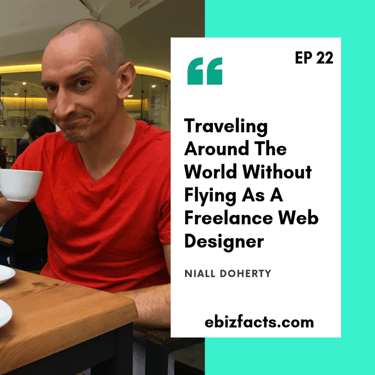 digital nomad podcast EP22 Niall Doherty