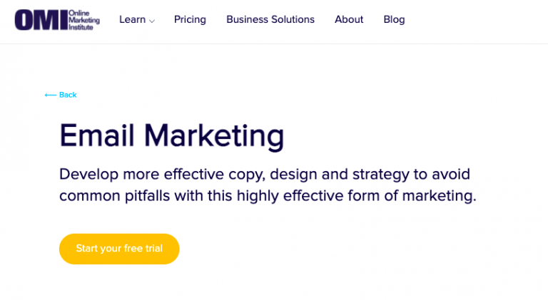 [OMI: Email Campaign Fundamentals-review) [OMI: Email Campaign Fundamentals-pricing)
