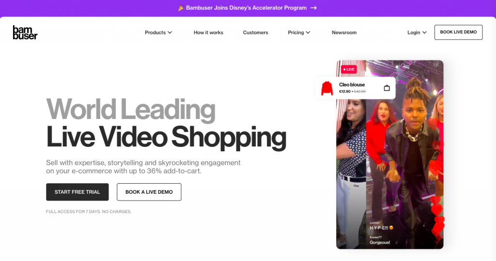 Best Live Shopping Software for eCommerce