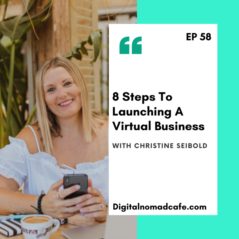 EP58: 8 Steps To Launching A Virtual Business With Christine Seibold