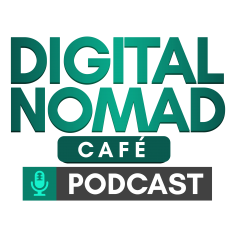 Digital Nomad Cafe Podcast logo